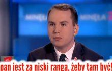 Poseł PO nazwał Adama Andruszkiewicza i jego klub przystawką PiS. Młody polityk wyprowadził bolesną ripostę.