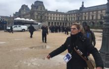 Niepokojące doniesienia z Francji. Część sztabu wyborczego Macrona ewakuowana [FOTO+WIDEO]