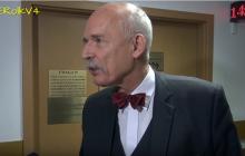 Korwin-Mikke komentuje wyrok ws. spoliczkowania Boniego.