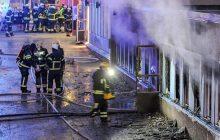 Szwecja: Spłonął największy meczet w kraju. Prawdopodobne podpalenie