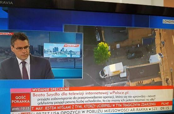 Fala krytyki pod adresem TVP Info! Stacja wyemitowała na żywo wywiad Beaty Szydło dla prywatnej telewizji internetowej [WIDEO]