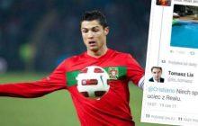 Tomasz Lis kazał Cristiano Ronaldo