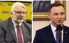Konflikt na linii Duda-MSZ? Szef gabinetu prezydenta ostro krytykuje Waszczykowskiego