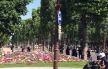 Francja: Eksplozja samochodu na Polach Elizejskich!