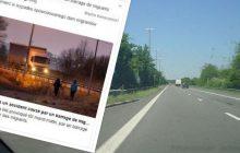 Tragedia we Francji! Nie żyje kierowca polskiej furgonetki. Zginął w okolicach Calais w wyniku nielegalnych działań imigrantów