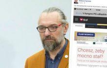 Mateusz Kijowski oburzony reklamą na portalu internetowym.
