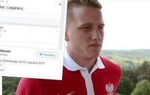 Dziennikarz przypomniał facebookowe wpisy reprezentanta Polski sprzed sześciu lat. Piłkarz walczył o... uniknięcie jedynki z języka polskiego!