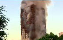 Londyn: Sceny jak z 11 września 2001 roku! Gigantyczny pożar wieżowca. Są ofiary śmiertelne [WIDEO +NOWE INFORMACJE]