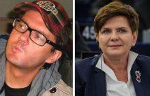 Kuba Wojewódzki chciał uderzyć w Beatę Szydło... i wywołał burzę. Ostra dyskusja na Facebooku