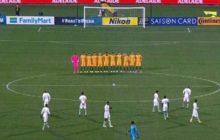 Oburzająca sytuacja podczas meczu Australia-Arabia Saudyjska. Arabowie zignorowali minutę ciszy dla ofiar zamachów w Londynie! [WIDEO]