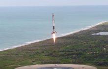 SpaceX publikuje nagranie z kolejnego udanego lądowania rakiety Falcon9 [WIDEO]