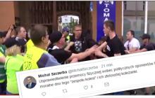 Poseł PO komentuje zamieszki w Radomiu i uderza w rzeczniczkę PiS.