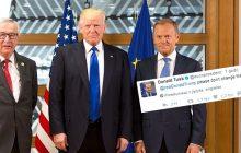 Tusk ostrzega... Donalda Trumpa. Na Twitterze. Chodzi o porozumienie klimatyczne
