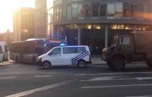 Wybuch w Brukseli. Mężczyzna prawdopodobnie miał tzw. pas szahida [WIDEO]