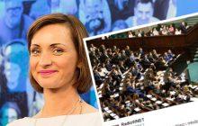 Zaskakujące doniesienia wPolityce.pl. Portal podał, że posłanka PO chciała doprowadzić do przerwania obrad Sejmu Dzieci i Młodzieży.