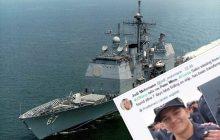 Marynarza uznano za zmarłego. Kilka dni później odnaleziono go w... maszynowni!
