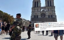 Już wiadomo kim jest napastnik spod katedry Notre Dame. Przyjechał do Francji robić... doktorat