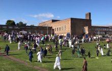 Wielka Brytania: kierowca wjechał w pieszych świętujących koniec ramadanu. Są ranni [WIDEO]
