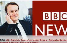 Tarczyński ostro w BBC. Dziennikarka nie wiedziała co odpowiedzieć.