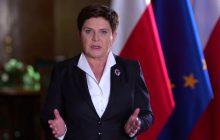 Premier Beata Szydło wygłosiła orędzie i komentuje decyzję prezydenta.