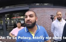 W Berlinie muzułmanie obrażali Polskę. Jeden Polak stanął w obronie. Interweniowała policja [WIDEO]