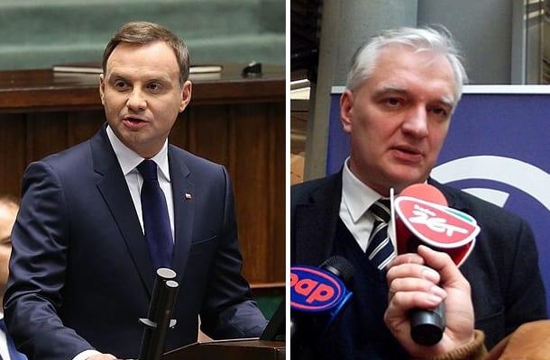 Powstanie nowa partia Andrzeja Dudy? Gowin nie zostawia wątpliwości