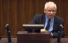 Przepychanki w Sejmie! Kaczyński stracił nerwy.