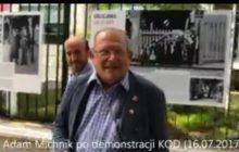 Michnik obraził kolejnego dziennikarza! Wiązanka wulgaryzmów spodobała się... posłowi PO [WIDEO]