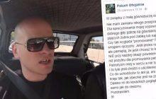 Raper skrytykował noszenie bluz z hasłem