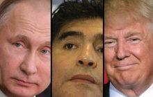 Diego Maradona na ustach całego świata. Legendarny piłkarz nie szczędził pochwał Putinowi i zadrwił z Donalda Trumpa