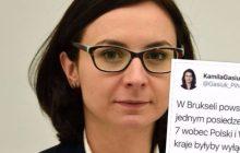 Posłanka Nowoczesnej rozpowszechnia nieprawdziwe informacje nt. Polski i Węgier. Dziennikarka TVP obnażyła jej tweet w najlepszy możliwy sposób