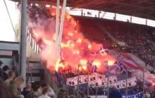 Taką oprawę zaprezentowali kibice Lecha Poznań podczas meczu pucharowego. Holendrzy... zaczęli wstawać z miejsc [WIDEO]