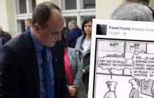 Paweł Kukiz opublikował na swoim profilu rysunkowy żart i... oburzył część internautów