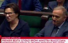 Mocne wystąpienie Beaty Szydło. Premier zadała Grzegorzowi Schetynie jedno pytanie. Ewa Kopacz oburzona, a na sali burza braw [WIDEO]