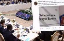 Dziennikarz TVP publikuje zdjęcia wykonane podczas szczytu G-20. Tak wygląda salka modlitewna dla gości [FOTO]