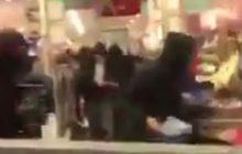 Antyglobaliści i antykapitaliści, którzy wywołali zamieszki w Hamburgu okradają zdemolowany sklep. Skandaliczne nagrania krążą po sieci [WIDEO]