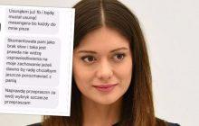 Miriam Shaded ujawniła tożsamość internauty, który wulgarnie ją obrażał. Po kilku godzinach przeprosił. Pozostali użytkownicy Facebooka dali mu popalić