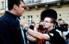 Dziennikarz TVP Info zaatakowany podczas miesięcznicy smoleńskiej!