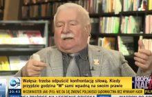 Burza po programie Moniki Olejnik. Dziennikarka zapytała Wałęsę, czy brał pieniądze od SB, a ten nie wytrzymał.