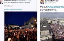 Posłowie opozycji chwalą się frekwencją podczas demonstracji pod Pałacem Prezydenckim. Polityk PiS postanowił przypomnieć im pewien marsz z 2012 roku [FOTO]
