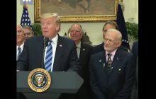 Były astronauta przyćmił samego Trumpa. To trzeba zobaczyć! [WIDEO]