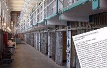 Anonimowy list strażnika więziennego podbija media społecznościowe.