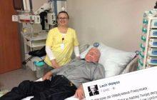 Jest pierwszy komentarz Wałęsy ze szpitalnego łóżka. Były prezydent zamieścił wpis na Facebooku