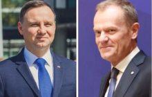 Najnowszy sondaż prezydencki: Duda vs. Tusk. Który z nich może liczyć na większe poparcie?