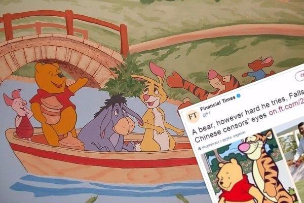 Kubuś Puchatek ocenzurowany w Chinach! Powód? Jest zbyt podobny do przewodniczącego ChRL!