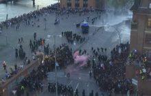 Brutalne zamieszki w Hamburgu! Sceny jak z pola bitwy [WIDEO]