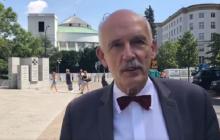 Były wiceprezes partii Wolność twierdzi, że Janusz Korwin-Mikke jest poważnie chory. Jest odpowiedź