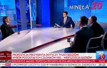 """Kontrowersyjna wypowiedź w programie TVP na temat decyzji prezydenta. Była mowa o """"sabotażu"""" i  """"niemieckim wecie"""" [WIDEO]"""