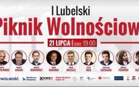 I Lubelski Piknik Wolnościowy. Wśród gości Janusz Korwin-Mikke