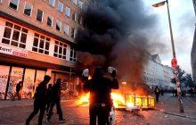 Prezydent Niemiec wstrząśnięty po dzisiejszej wizycie w Hamburgu. Setki rannych policjantów i krajobraz jak po wojnie [WIDEO]